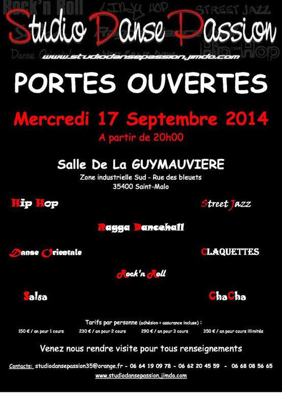 Portes Ouvertes 17 Septembre 2014