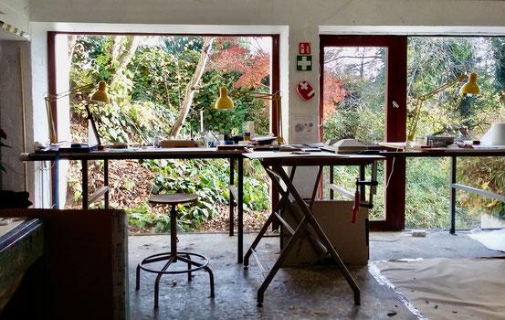 studio garden Verrewinkel, résidence d'artiste, Olivier Strebelle,