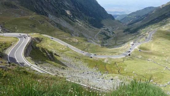 Über den Gipfeln der Karpaten