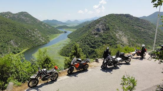 Blick auf den Skadarsko See