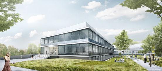 Entwurf Neubau SupraFab - FU Berlin