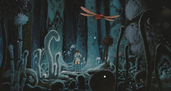 Nausicaä de la Vallée du Vent ; Hayao Miyazaki. Culture Max de nature