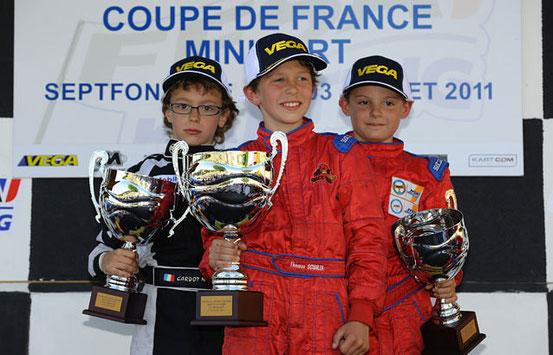 Thomas Vainqueur de la COUPE de  FRANCE 2011