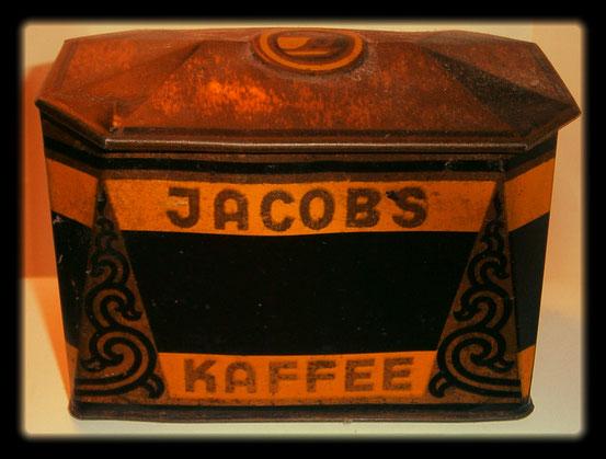 Kaffeedose Jacobs Kaffee 1950