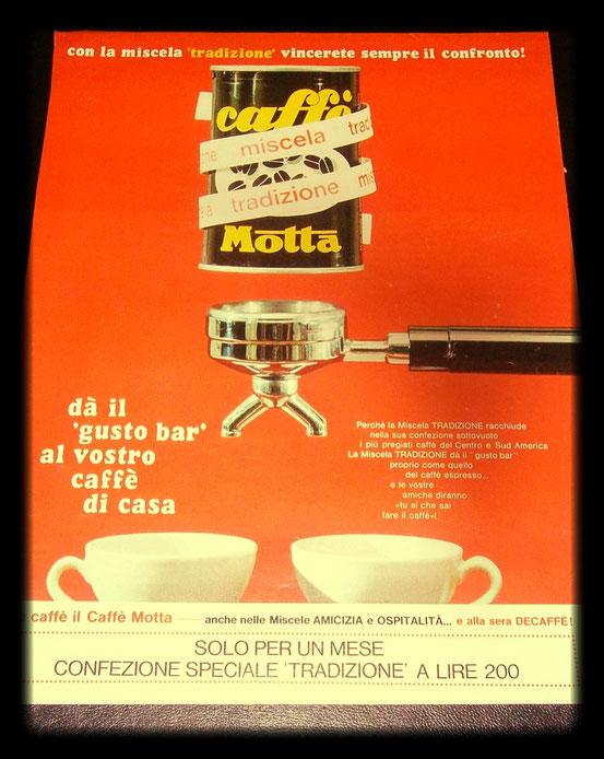 Motta Caffe' 1965