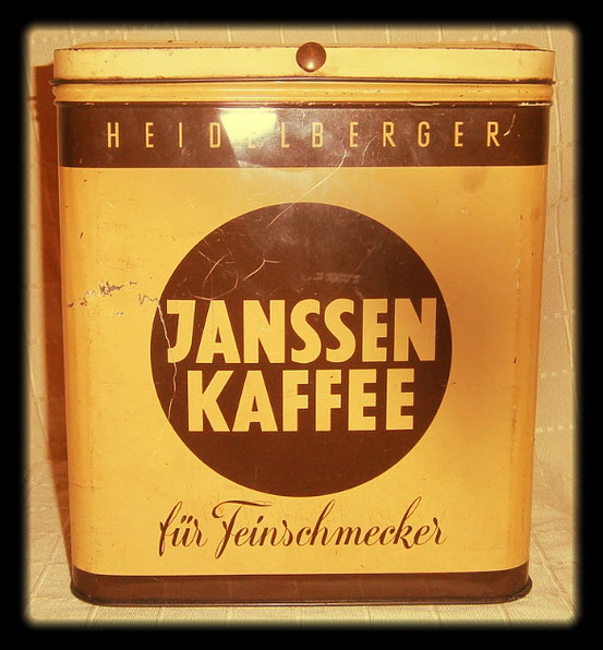 Janssen Kaffee 1970