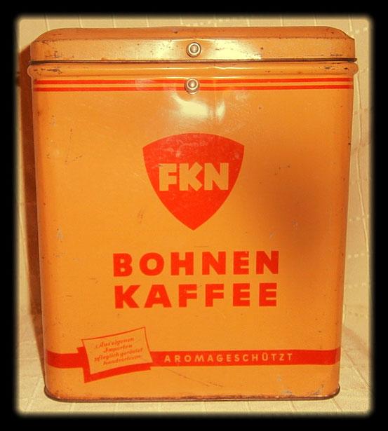 FKN Bohnen Kaffee 1950