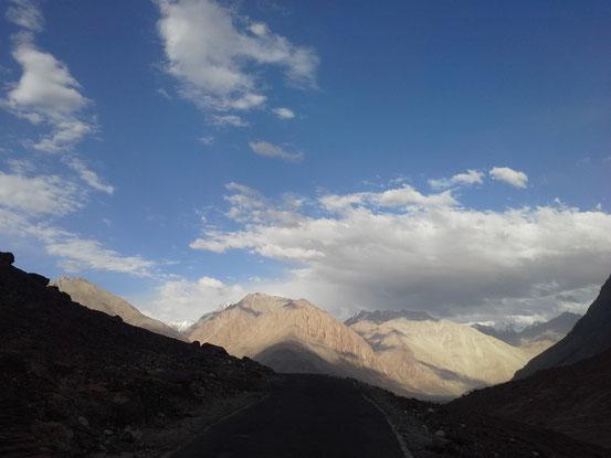 Berge in Diskit