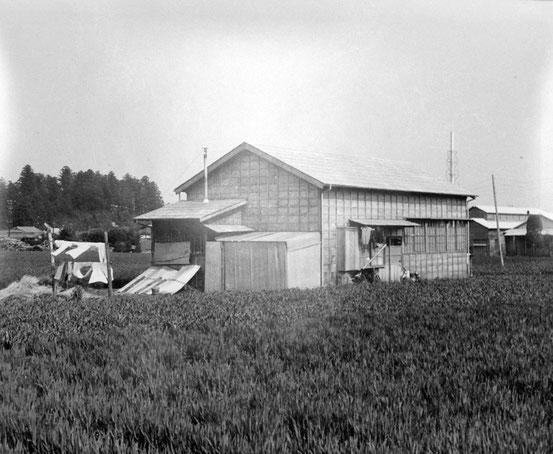 創業時は大草原の小さなお家から始まりました
