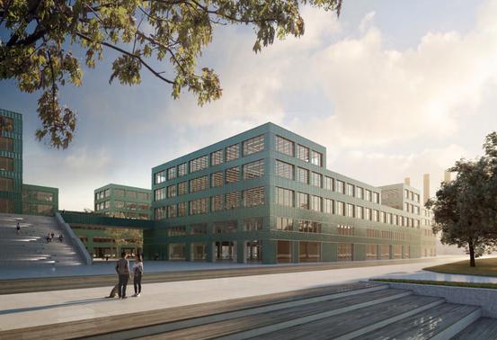 Architekturentwurf für das Firedrich-Krause-Ufer, Berlin