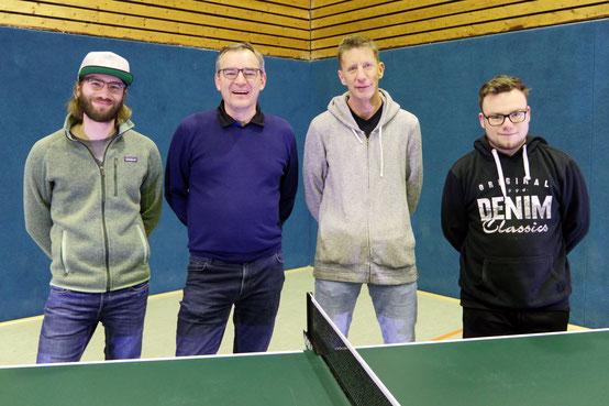 von links: Torben Kohlmann, Werner Przybilla, Oliver Linke, Stefan Tschirbs, Uwe Tessarek; es fehlt: Simon Imort