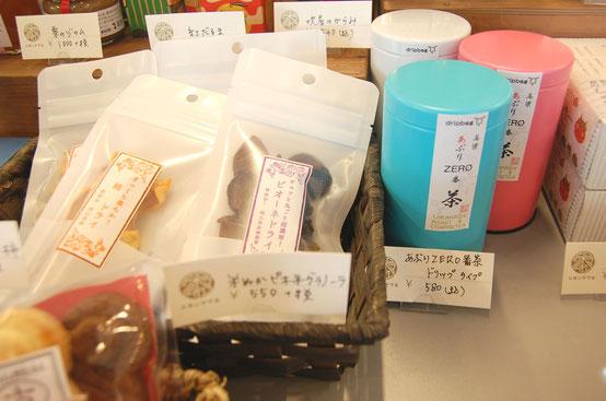 岡山のお土産コーナー写真