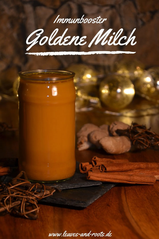 Immunbooster Goldene Milch