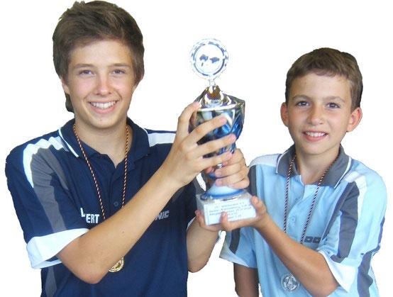 Archiv 2006/07: Max und Fredi qualifizieren sich für die Deutsche Schülerrangliste
