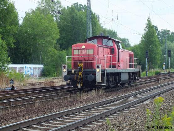 294 684-6 durchfährt am 16. Juli 2014 Leipzig-Thekla