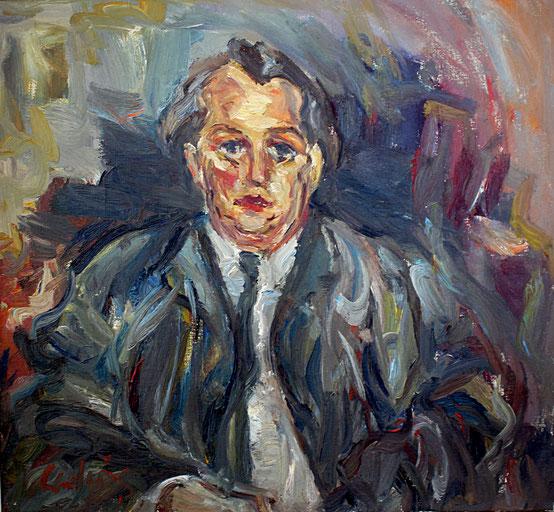 Konrad Jule Hammer   1959, Öl auf LW, 73 cm x 79 cm