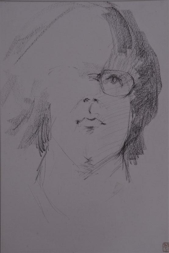 出品素描2 私の像