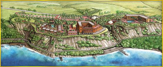 Altafiumara Resort & Spa Gelände