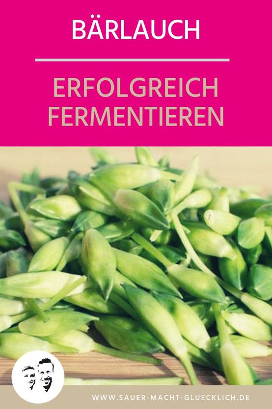 fermentierter Bärlauch