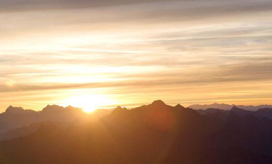 Foto del Pizzo dei Tre Signori e della Val Biandino
