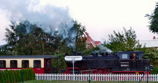"Dampfeisenbahn ""Molli"": Kühlungsborn - Bad Doberan"