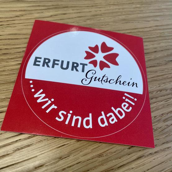 Gutscheine der Erfurt Tourismus & Marketing GmbH einlösbar bei Zacher