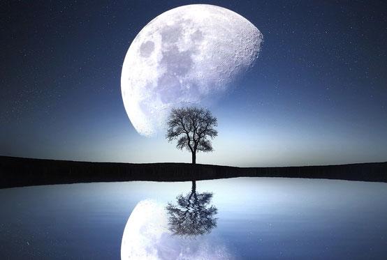 Mond, Spiegel der Seele