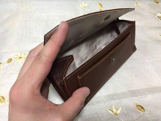 オーダーメイドー本革がまぐち長財布