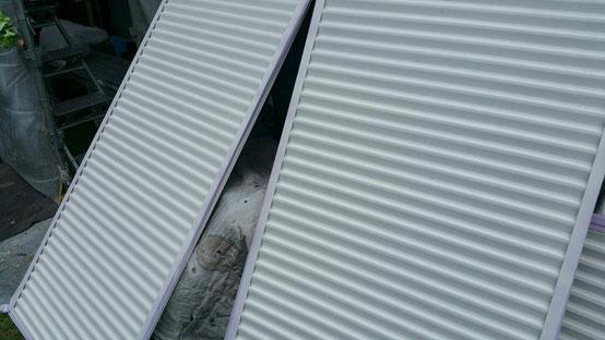 垂井町、関ヶ原町、養老町、大垣市、池田町、揖斐川町、春日村で外壁塗装工事中の外壁塗装工事専門店。垂井町宮代で外壁塗装工事/付帯の塗装作業中