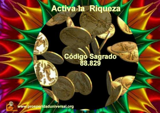 ACTIVA LA OPULENCIA DE RIQUEZA- CÓDIGO SAGRADO AGESTA- 88829- ÁNGEL DE LA RIQUEZA- AFIRMACIONES PODEROSAS CREADAS POR PROSPERIDAD UNIVERSAL