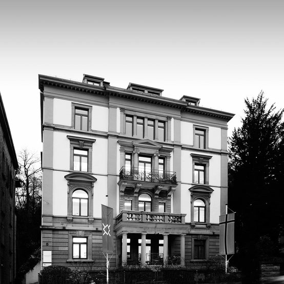 Fotografie: Peter Scheerer, Stuttgart - Gebäude Hasenbergsteige 5, Schiefer & Schmid Rechtsanwälte