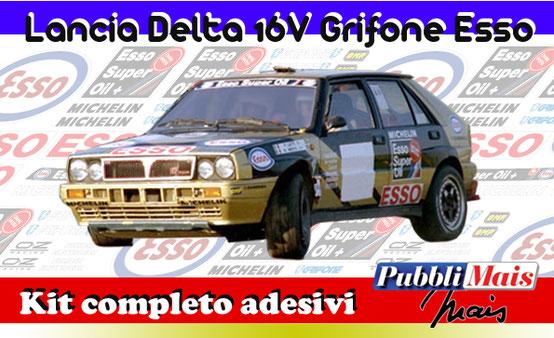 price cost kit complete stickers decals sponsor lancia delta 16v 1991 fina edition first oil online shop pubblimais cerrato