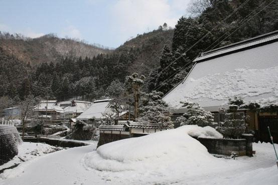 古屋地区の豪雪