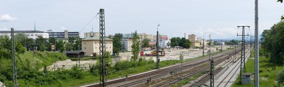 Rosenheim von oben