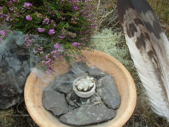 Räuchern Ritual Räucherritual Naturritual