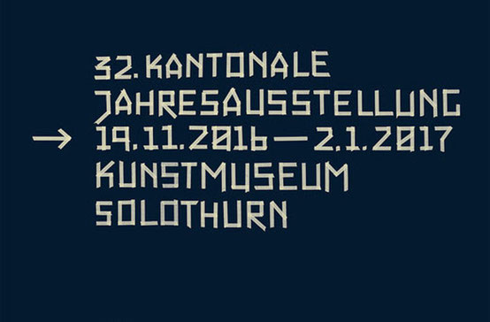 32. Kantonale Jahresausstellung, Kunstmuseum Solothurn