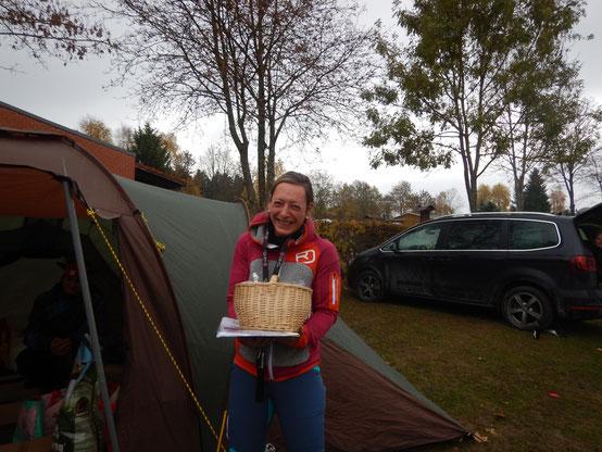 longest time on trail - Gritta und Karsten allein an Tag eins schon 20 h on tour