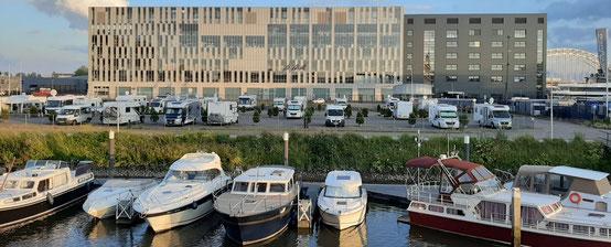 Wohnmobilstellplatz Alblasserdam, Niederlande