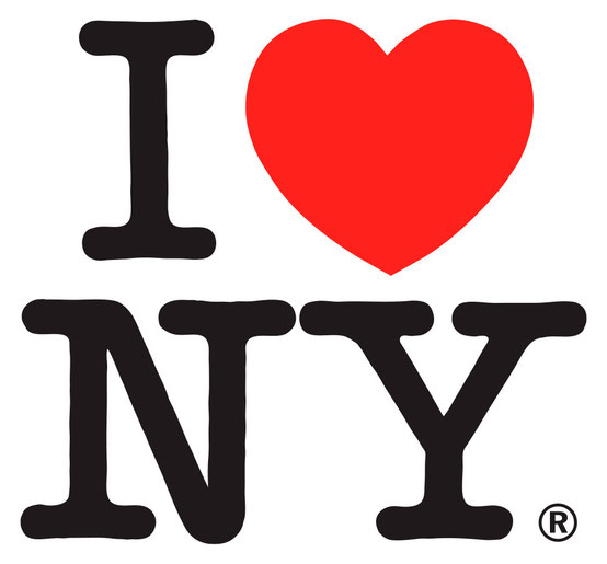 'I love New York', diseñado por Milton Glaser.