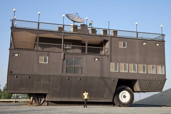 ...für einen grossen Wohnwagen.