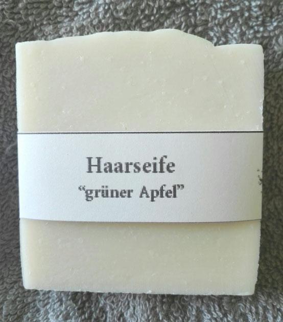 """Haarseife """"Grüner Apfel"""""""