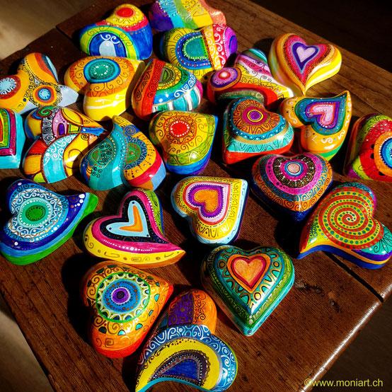 Hier sind die grossen Herzen zu sehen, es sind die Grössten dieser Art.