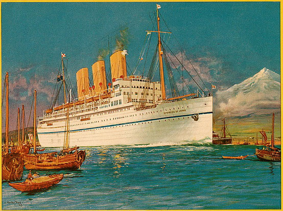 SS  EMPRESS OF JAPAN