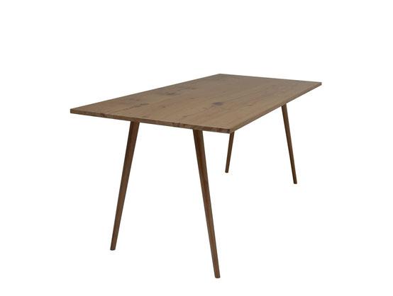 Vintage Schreibtisch Massivholz als neuformat Design