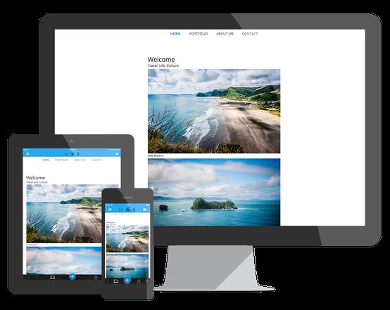 Creare sito web - Jimdo
