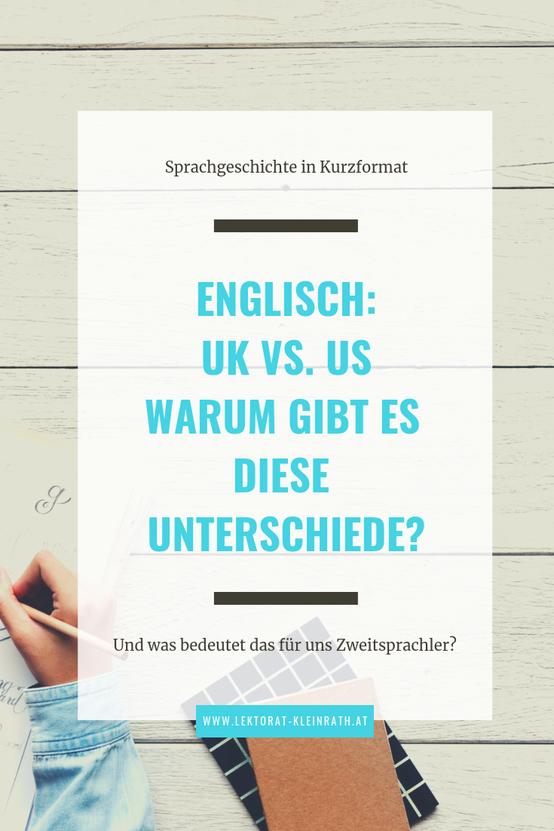 Unterschiede britisches und amerikanisches Englisch