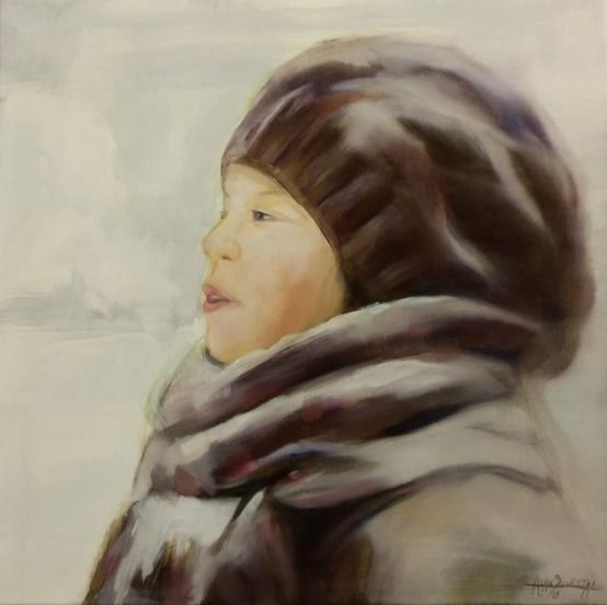 Winterwasem, 60 x 60 cm