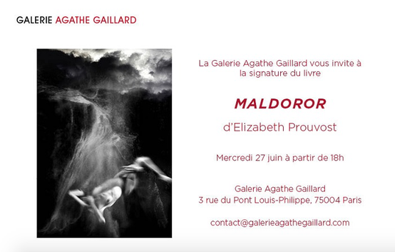 Maldoror Lautéamont Agathe Gaillard Prouvost Elizabeth Photographe