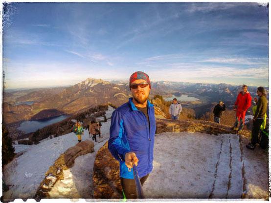 Berglauf Zwölferhorn in St. Gilgen