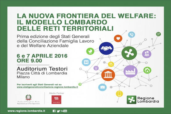 Co-working, welfare aziendale, stati generali regione Lombardia, smart working, lavoro agile,